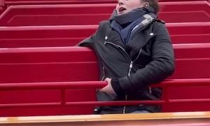 Amusement Park Ride Does Not Amuse This Lady