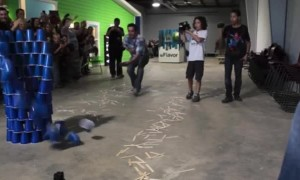 Creator Sets the World Record for Longest Stick Bomb