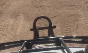ATV Drift Leads to Mouthful of Sand