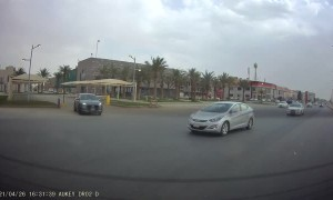 Car Causes Crash While Attempting U-Turn
