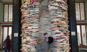 The Idiom Installation in Prague Library
