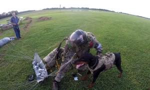 Duke Goes Skydiving