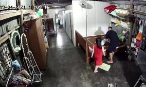Lucky Catch Saves Kiddo