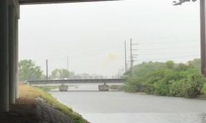 Electrical Explosion During Rain Storm