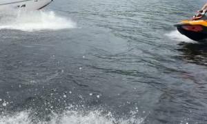 Jet Ski Head on Collision