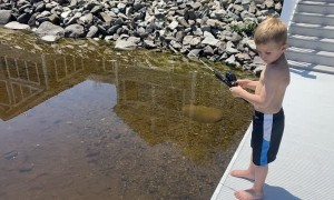 Fishing Frustration Begins at an Early Age