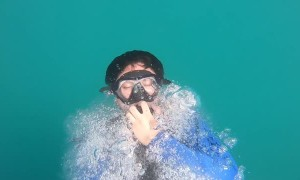 Slow Motion Dive Entry