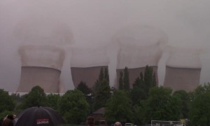 Demolished Cooling Towers Coming Down