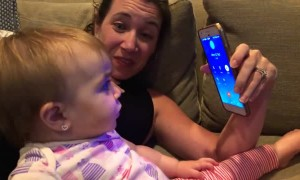 1-Year-Old Has The Cutest Phone Conversation With Grandma