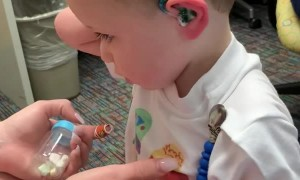 Boy Hears the World for the First Time