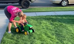 High Performance Tuned Toy Tractor