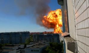 Gas Explosion in Novosibirsk, Russia