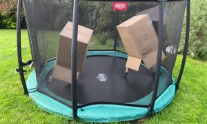 Brothers Invent Trampoline Boxing Sport