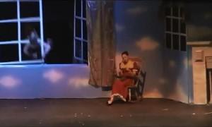 Peter Pan Crashes Through the Window
