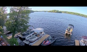 Windy Day Leads to Docking Difficulties