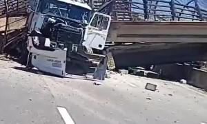 Bridge Collapses in Northeast DC