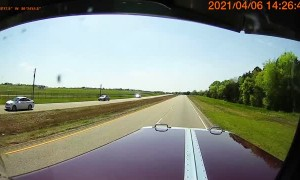 Car Pulls Out in Front of Semi Truck