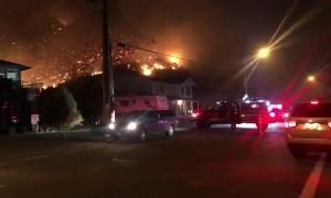 Horrific wildfire threatens city of Kamloops in British Columbia