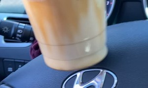 Showing off Barista's Skills Leads to Spill