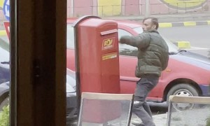 Man Takes Out Anger on Unsuspecting Mailbox
