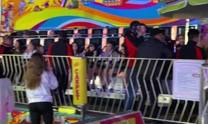 Carnival Ride at National Cherry Festival Shuts Down
