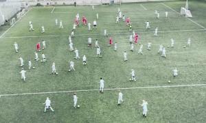 Kids Soccer Team Re-enacts Raheem Sterling