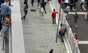 Security Breach at Wembley Stadium