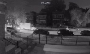 Drunk Driver Hits Parked Rental Truck