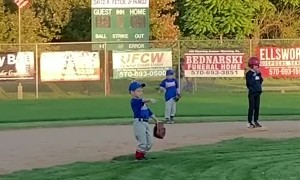 Kid dances his way from T-Ball to Coach Pitch