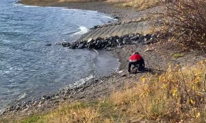 Skipping Rocks Leads To Head Socks
