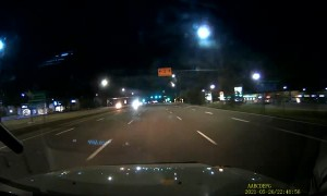 Ignorant Driver Ignores Right of Way and Causes Accident