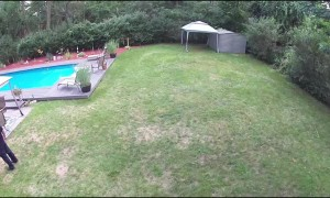 Dog Breaks Through Fence, Charges Neighbors