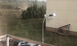 Tornado Forms in Tver Region of Russia