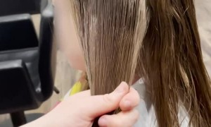 Knotted Hair Saved by Talented Hairdresser