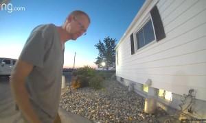 Doorbell Conversation Confuses Visitor