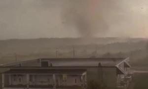 Tornado Rips Through Russian Field