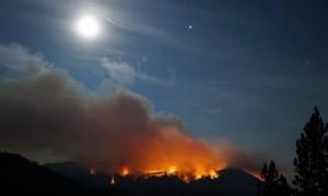 Time-Lapse of Yaak Mountain, Montana Fire