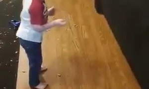 Toddler Tips Couch in Show of Strength