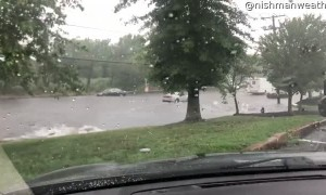 Massachusetts Street Floods