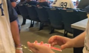 Mind-blowing magic trick leaves these dudes in awe