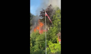 Fire in a Detached House in Norway