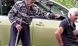 Great Grandfather Bamboozles Wife with Classic Gag