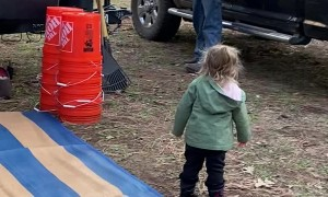 Articulate Toddler Argues with Grandpa