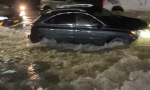 Flood Turns Brooklyn Street Into River