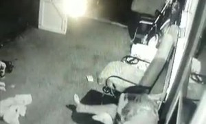 Moved Porch Chair Causes Mishap