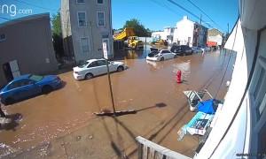 Neighborhood Surprised by Late Night Flood