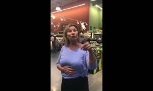 """Anti-Masker with """"Allergies"""" Coughs on Shoppers"""