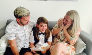 Daughter Reacting to Pregnancy of Identical Twin Sisters