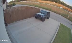 Lawnmower Goes For Joy Ride