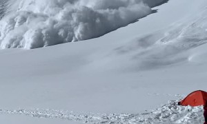 Adventurers Keep Clear of Avalanche